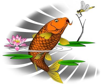 ryba a muška