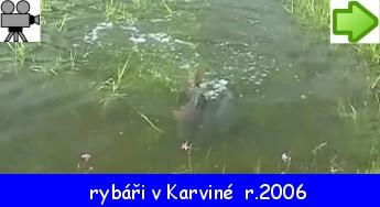 rybáři v Karviné